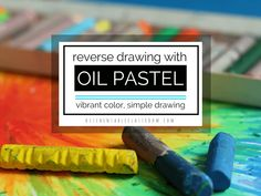 This oil pastel drawing lesson is one of those kid's art projects that takes me back to childhood. It doesn't require much in the way of art supplies, takes zero prep, and will totally engage your students. Throw in an exploration of the element of line and you've got a solid lesson for art class at school or home!