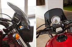 The Dart flyscreen - a windshield for the round headlight Victory bikes available in 3 tints for the Vegas 8 Ball, High Ball, Judge & Gunner. Victory Vegas, Victorious, Motorcycles, Classic, Motorbikes, Blue Prints, Derby, Classic Books, Motorcycle