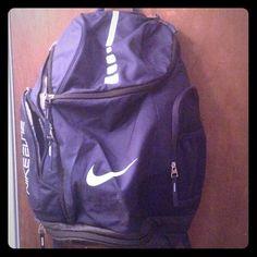 purple nike elite backpack