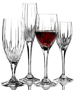 "Love these: Mikasa ""Arctic Lights"" Crystal Stemware - Stemware & Cocktail - Dining & Entertaining - Macy's"