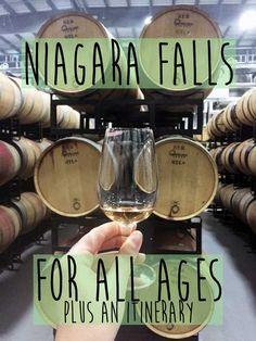 Niagara Falls | Canada travel | Canada destinations | Things to do in Niagara Falls