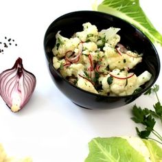 Simple Salad Series 2014: Cauliflower Salad - [blog] www.landofzonkt.com.au