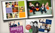Free, easy-to-use software helps create fully personalized photo books, cards, and invitations with custom images and text Student Life Yearbook, Mini Photo Books, Holiday Cards, Christmas Cards, Personalised Photo Books, Stationary Items, Crop Photo, True Love, My Love