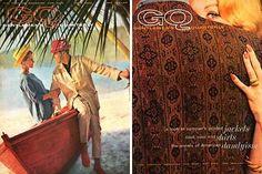 Vintage GQ magazine cover 1960