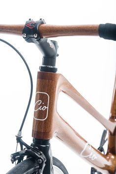 Cio bikes | Cio Park | Timber / carbon step through in silky oak