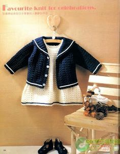 Crochetcetera and such: jackets, dresses and fofurinhas ...