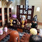 Lego 75954 Harry Potter Hogwarts Great Hall Building Kit 878 Pieces Toys Games Harry Potter Lego Sets Hogwarts Great Hall Harry Potter Hogwarts