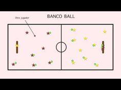 Banco ball. Lanzamientos y recepciones
