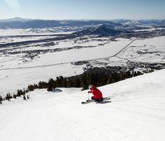 Endless view from @Jackson Hole Mountain Resort Wyoming #ski #skiing #view #winter SkiMag.com