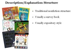 Characteristics of description/explanation writing style