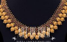 Designer Gold Beads Necklace