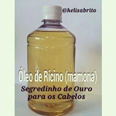 Aprenda como usar óleo de rícino(mamona) nos cabelos e conheça seus inúmeros benefícios. Esse óleo é super milagroso.