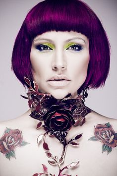 """I'm the Revolution"" by Aleksandra Zaborowska for Cinder / Model: Piggy / Hair & Makeup: Sylwia Pniewska"
