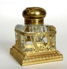 French Empire Inkwell - Baccarat Crystal http://t3.gstatic.com/images?q=tbn:ANd9GcTwyQ4F1v_voE7-FNf2MYpVP0wdgE1EUpfbzqqJ07GsR97sN7EFxg