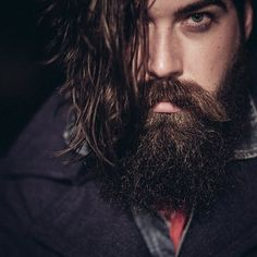 Lane Toran - full thick dark beard and a great mustache beards bearded man men mustaches bearding handsome #beardsforever