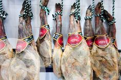 Iberian ham from local races. its production contributes to maintain traditions, healthy food, employment and agrobiodiversity. Even more, they contribute to maintain Spanish dehesas (evergreen open woods)