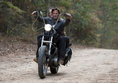 Daryl Dixon in the Walking Dead season finale...it just doesn't get any better than this