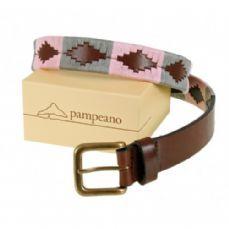 Pampeano Polo Belt, Luxury Hand Stitched Polo Belt - Mariposa