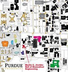 purdue university campus map google search
