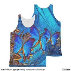 Butterfly Art 35 Options All-Over Print Tank Top
