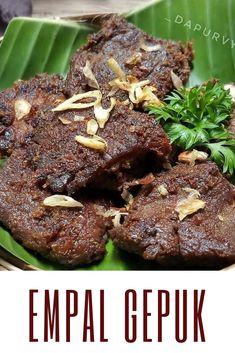 Discover recipes, home ideas, style inspiration and other ideas to try. Meat Recipes, Cooking Recipes, Malay Food, Ramadan Recipes, Indonesian Food, Fun Cooking, No Cook Meals, Food To Make, Dessert Recipes
