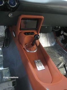 69 Camaro Custom console is complete in the 1969 Camaro