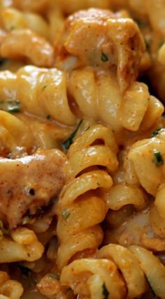 Creamy Cajun Chicken Pasta recipes food recipes recipes recipe to make Shrimp Recipes Easy, Chicken Pasta Recipes, Easy Dinner Recipes, New Recipes, Easy Meals, Cooking Recipes, Easy Recipes, Popular Recipes, Pasta Food