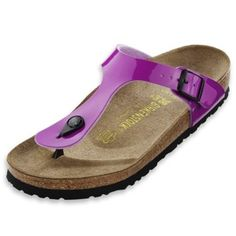 Love my Birkenstocks - surely the most comfortable shoes in the world!  I have a pair just like these only in green, would love to have them in this color!