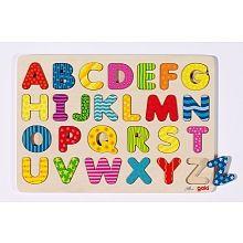 Goki - houten puzzel Alfabet