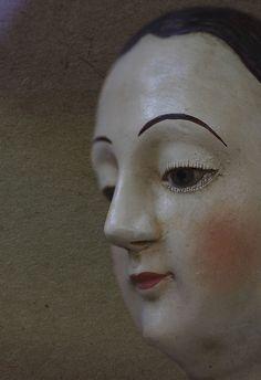 Antique mannequin head                                                                                                                                                                                 More