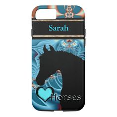 Heart Horses III Customizable (Dreamz 4) iPhone 8/7 Case #horse #lover #gifts #heart #horses #iPhone87Case. International shipping. #phonecases #iphonecases Iphone 7 Cases, Iphone 8, Apple Iphone, Gifts For Horse Lovers, Gift For Lover, Equestrian Gifts, Fractal Design, Personalized Phone Cases, Animal Skulls