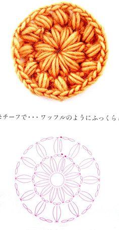 Crochet Little Flower - Chart