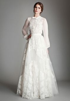 Boho/romantic bride from Temperley London. You must go there !