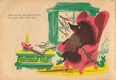 Garage book illustrations Hedgehog