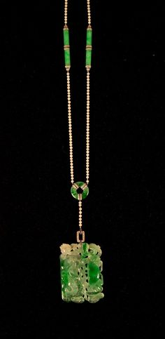 Platinum, Jadeite, Pearl, Diamond, and Sapphire Necklace Jade Necklace, Sapphire Necklace, Jade Jewelry, Art Deco Jewelry, Modern Jewelry, Custom Jewelry, Handmade Jewelry, Jewelry Design, Sapphire Pendant