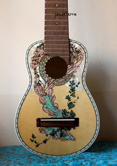 Guitar Paintings by Pez DeTerra (http://www.flickr.com/photos/ojosaborbotones/)