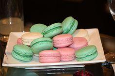 macaroons for bridal shower food #bridalshower #weddingfood