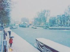 """662 Likes, 13 Comments - andrea turno (@andreaturno) on Instagram: """"#littlevenice canals during #winter 2009 for #jj_forum_1756 this is from an old blackberry phone…"""""""