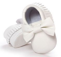 3a9829013f42 2016 Unisex Toddlers Baby Shoes Soft Soled Tassel PU Leather Crib Shoes  Prewalker Bow Shoe First Walkers Without Logo