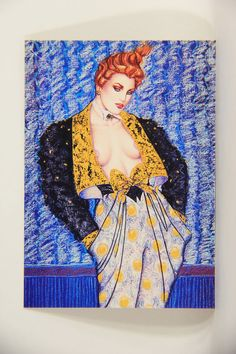 L008685 Olivia DeBerardinis 1992 Card #46 - Bewitched 1985 / Pin-Up Art