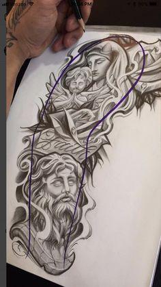 Forarm Tattoos, Forearm Sleeve Tattoos, Best Sleeve Tattoos, Dope Tattoos, Body Art Tattoos, Tattoo Drawings, Tattos, Angel Tattoo Designs, Tattoo Sleeve Designs