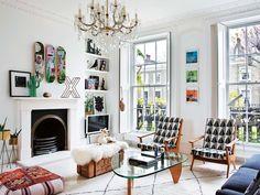 Una #casa con espacios luminosos