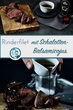 Ein kräftiges Schalotten-Balsamicojus, das den Geschmack vom guten Fleisch unterstreicht und nicht überdeckt. Das musst du ausprobieren...