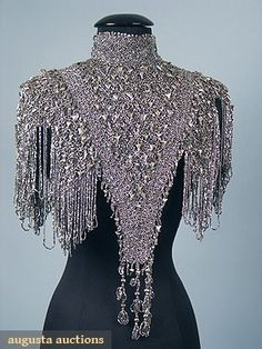 North America's auction house for Couture & Vintage Fashion. Augusta Auctions accepts consignments of historic clothing and textiles from museums, estates and individuals. Shoulder Jewelry, Yennefer Of Vengerberg, Clothing And Textile, Historical Clothing, Dance Outfits, Fashion Outfits, Womens Fashion, Costume Design, Beautiful Dresses