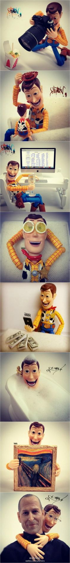 Cowboy Woody by Santlov