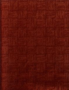 Donghia Upholstery Fabric Basket Case Coral red mohair velvet by the piece 1.875 yds KV3