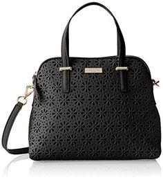 Kate Spade New York Cedar Street Perforated Maise Cross Body Bag in Black - http://www.womansindex.com/kate-spade-new-york-cedar-street-perforated-maise-cross-body-bag-in-black/