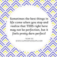 #onelife #perfection #acceptance Mental Health Support, Mental Health Issues, One Life, Life Is Good, Online Support, Negative Thoughts, Acceptance, Motivation, Feelings