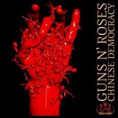 Guns N' Roses - Chinese Democracy - Colored Vinyl LP Record Album On Vinyl