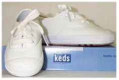 Every year mom would buy us all Keds white tennis shoes for school. When I say white I mean white. They were like 4000 pairs for a dollar I believe.